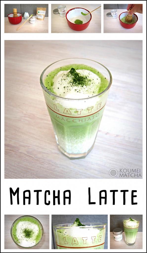 Matcha Latte zubereiten nach Rezept