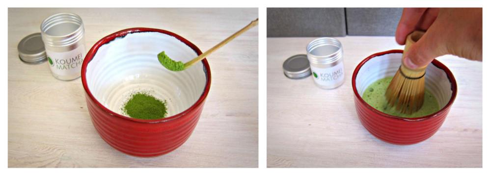Matcha Latte - Zubereitung - Koumei Matcha