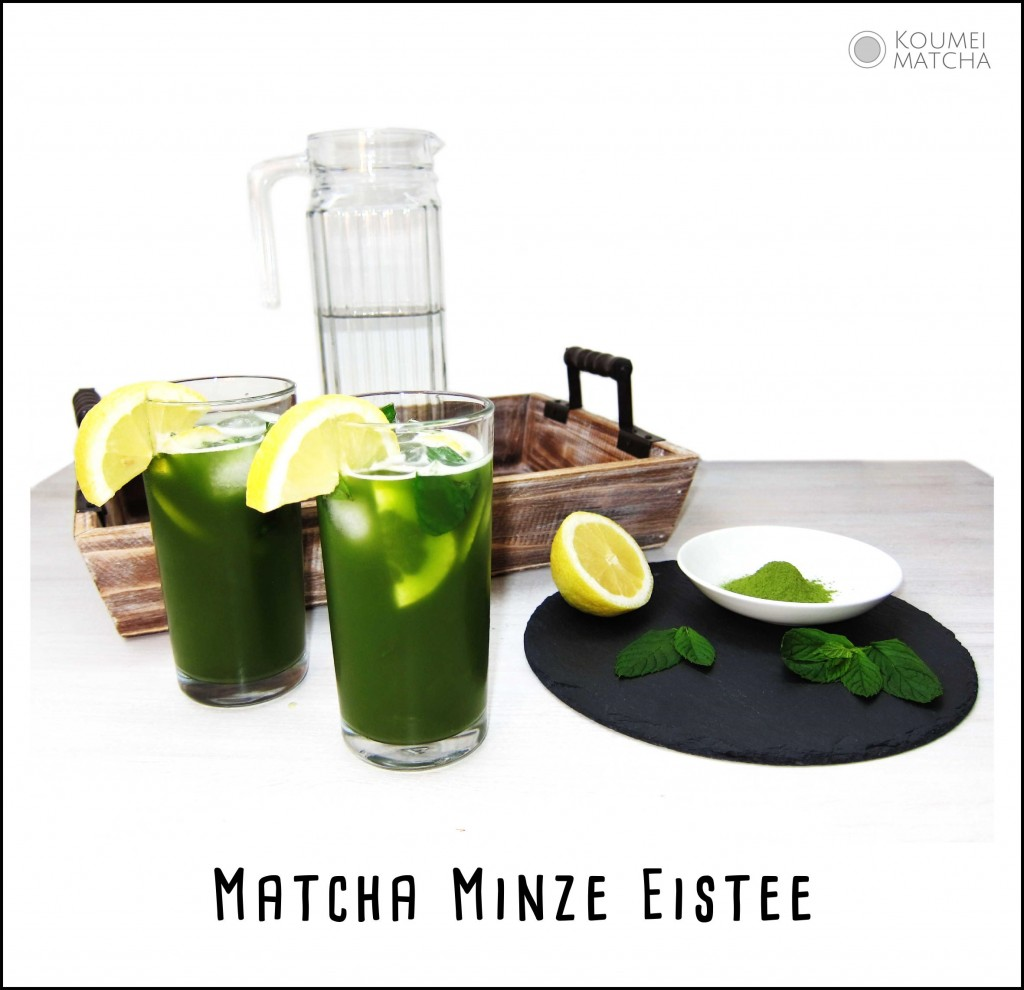 Matcha Minze Eistee